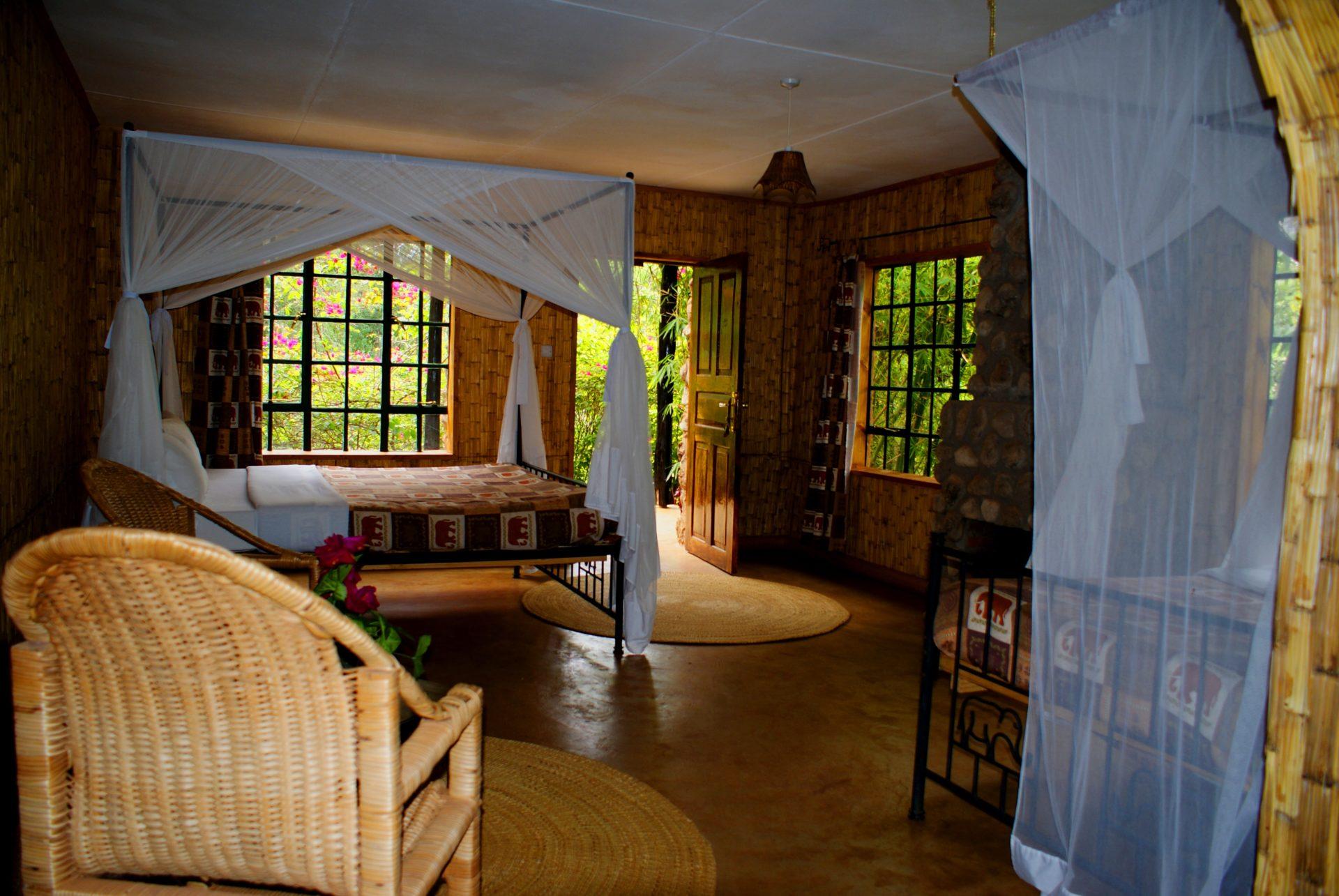 Octagon Lodge rum