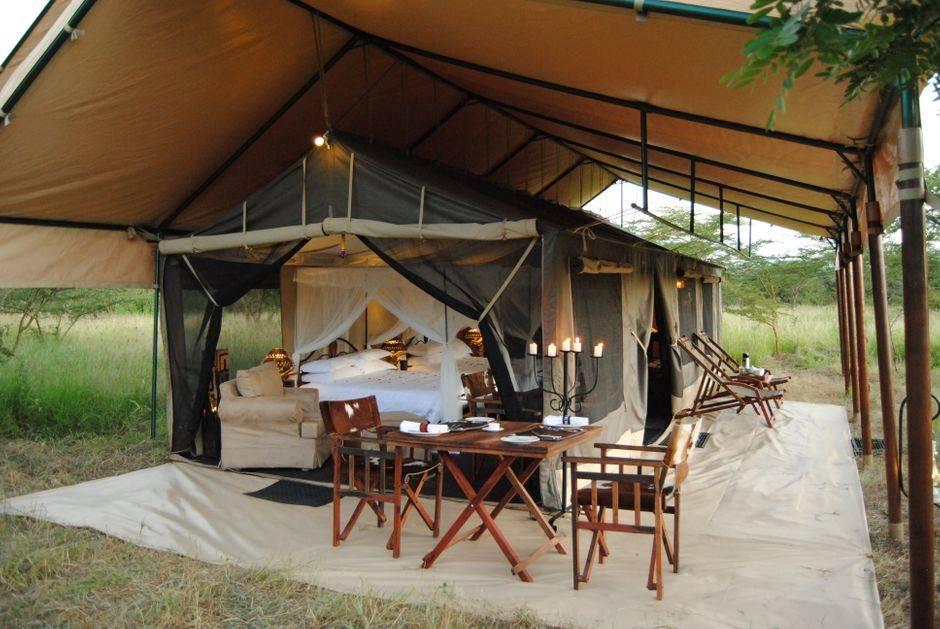 Tanzania Bush Camp tält